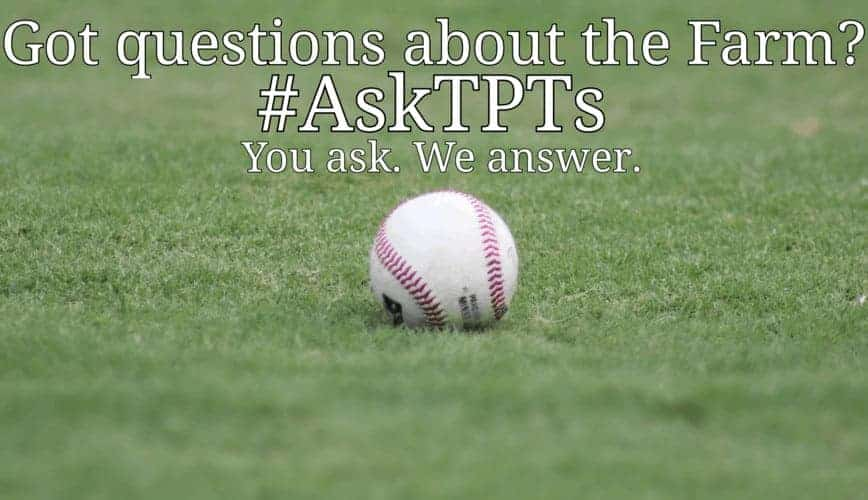 You ask, we answer. Off-season #AskTPTs