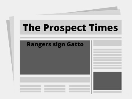 Rangers signed Joe Gatto; re-sign Heineman, Roster at 38