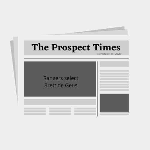 Texas Rangers Rule 5 draft 2020 results