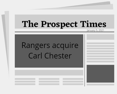 Rangers acquire Carl Chester