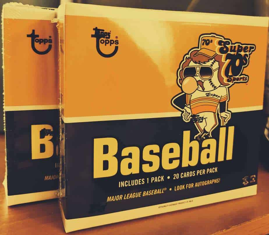 2020 Topps Super 70s Sports box review
