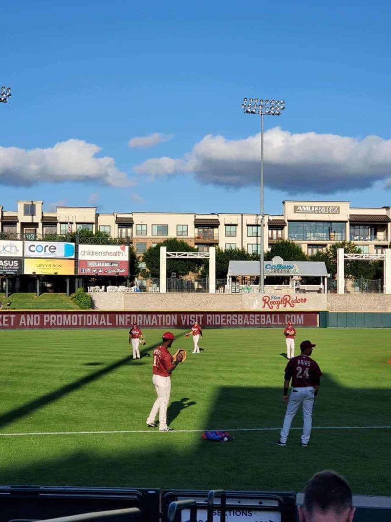 Frisco RoughRiders opening day 2021 recap