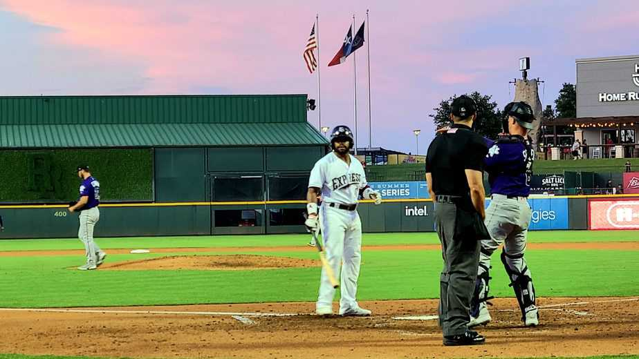 Topes Edge Express 3-2 as Round Rock's Hitting Woes Continue