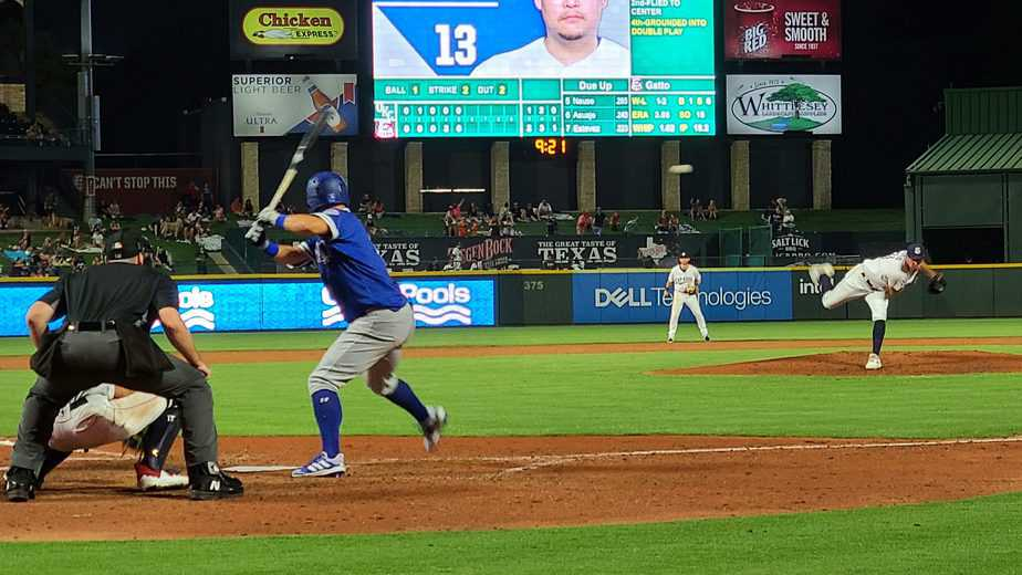 Express Use 2-Hit Pitching to Outlast OKC 3-1