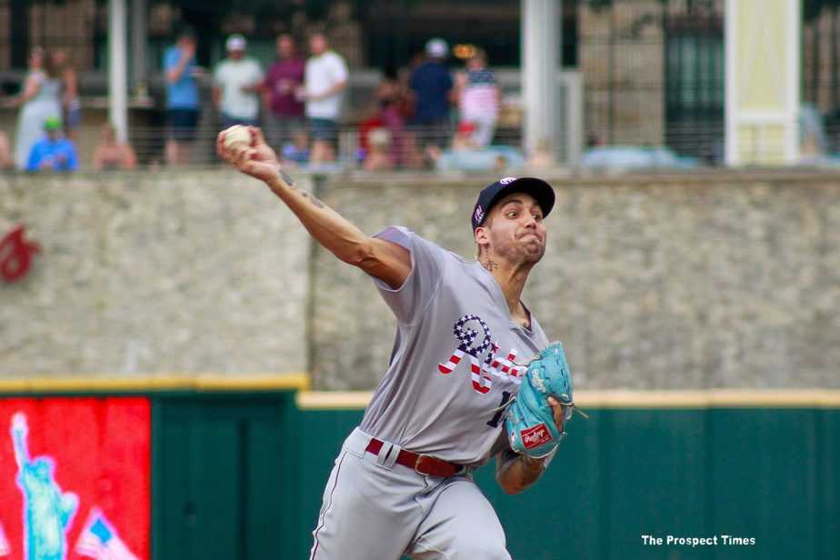 Hans Crouse loses no-hit bid in top of the 6th