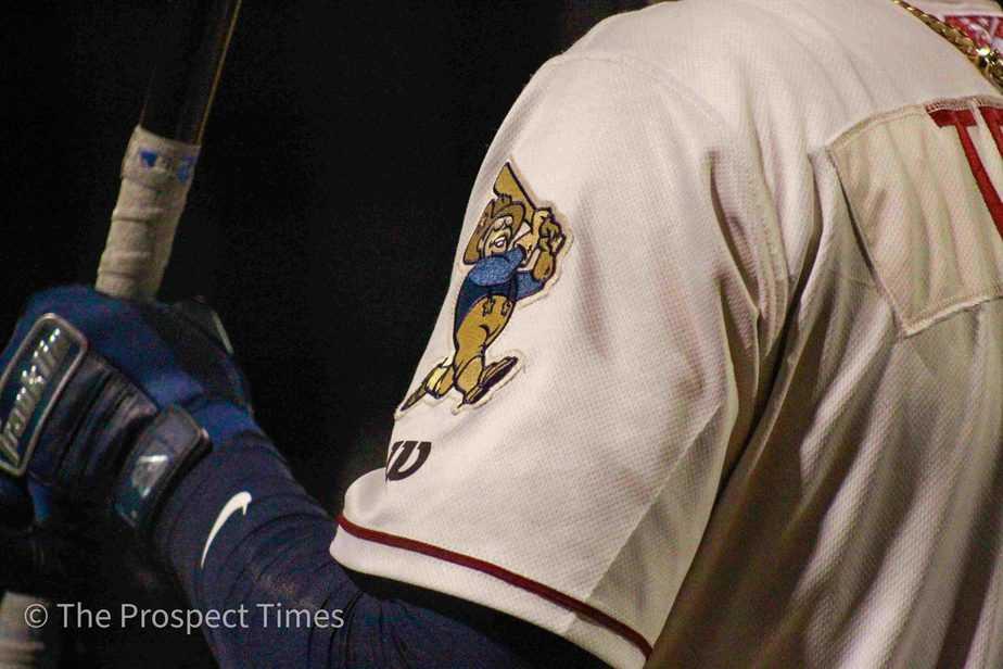 Frisco RoughRiders uniform sleeve